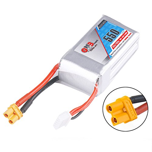 550mAh LiPo Battery 4S 14.8V 80C Rechargeable Battery XT30 Plug Connector for FPV Racing Drone RC Quadcopter Airplane