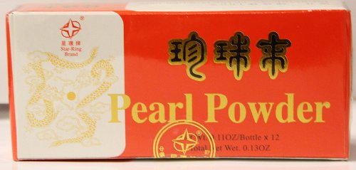 Wu Yang Brand-100% Pearl Powder (1 doz.)