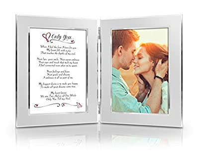BEST Romantic Anniversary, Birthday Gift for Her, for Him, Wife, Husband, Girlfriend, Boyfriend, Soulmate, Lover. Great Date Night Gift. Romantic Poem + Your Favorite Photo = Custom Poetry Gift