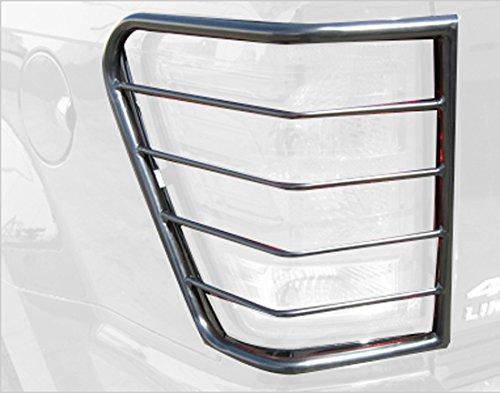 Steelcraft 30210 Tail Light Guard Black