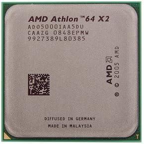 Amazon Com Amd Athlon 64 X2 5000 2 6ghz 2x512kb Socket Am2 Dual Core Cpu Computers Accessories