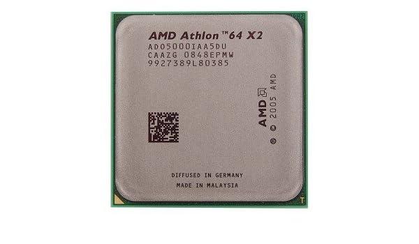 AMD Athlon 64 X2 5000 2.6GHz 2x512KB Socket AM2 Dual-Core CPU