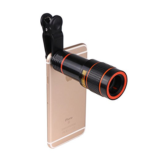 New Clip-on 12x Optical Zoom HD Telescope Camera Lens For Universal Mobile - Stores Near Me Optical
