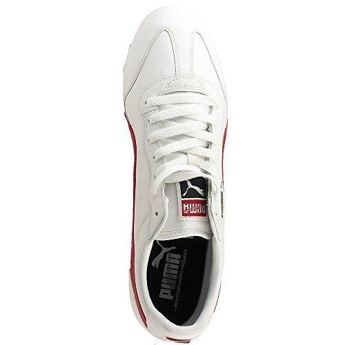 Puma - Ring L - 34526212 - Color: Blanco-Rojo - Size: 42.0