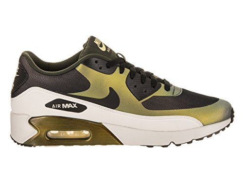 Nike Men's Air Max 90 Ultra 2.0 SE, Pale Citron/Black-Bio Beige Green