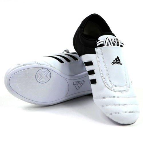 adidas-KICK-Shoes-Martial-Arts-Sneaker-White-with-Black-Stripes-9
