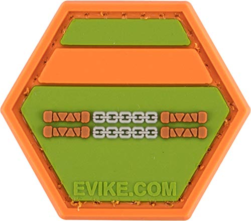 Evike Operator Profile PVC Hex Patch Geek Series (Style: Michaelangelo) ()