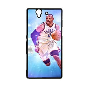 Love Phone Cases For Girly Printing With Russell Westbrook For Sony L36H Xperia Z Choose Design 1