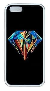 IMARTCASE iPhone 5S Case, Brilliant Diamond Case for Apple iPhone 5S/5 TPU - White