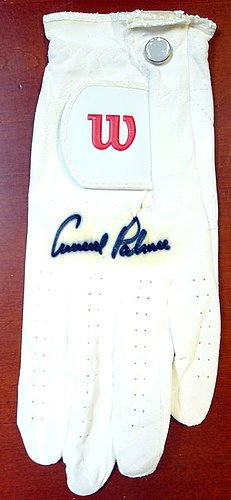 Arnold Palmer Signed Wilson Golf Glove - PSA/DNA Authentication - PGA Golf Autographs