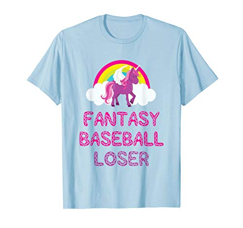 Fantasy Baseball Loser Unicorn Shirt For Bad Players