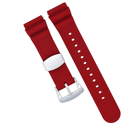 How to buy the best 18mm silicone watch band quick release?