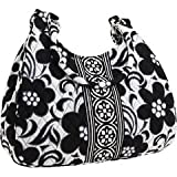 Vera Bradley Large Hobo in Night & Day