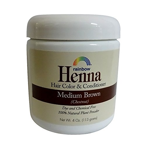 Henna (Persian) - Med Brown (Chestnut), 4 oz ( pack of 2 ) by Henna (Image #2)