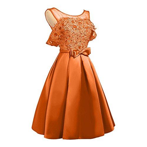 Charmant Orange Spitze Tanzenkleider Rock Linie Mini Heimkehr A Cocktailkleider Gold Abendkleider Damen Kurzes fR6qrfwU