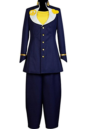 UU-Style JoJo's Bizarre Adventure Josuke Higashikata Cosplay Costume Halloween Uniform -