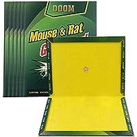 Mumoo Bear 6pcs Mouse Sticky Trap Glue Mouse Trap for Rats Mice Snake Chipmunk Rodent