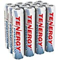 12-Pk. Tenergy Premium Rechargeable AAA 1000mAh NiMH Batteries