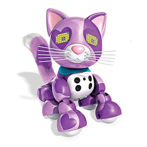Zoomer Meowzies, Viola, Interactive Kitten with Lights, Sounds and Sensors, by Spin Master
