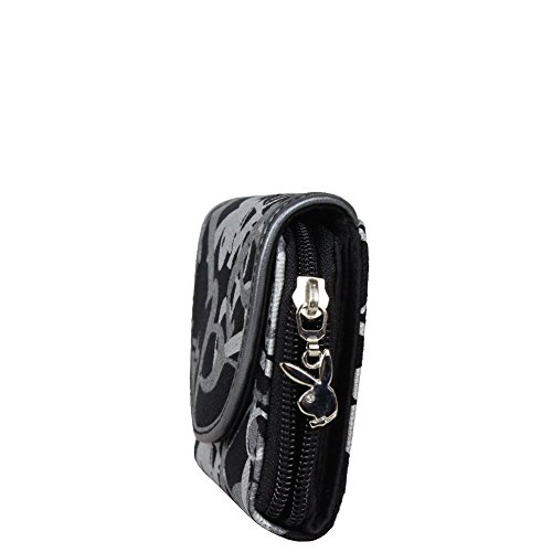 Porte monnaie femme Playboy PA2549 - Noir