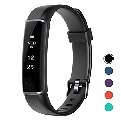LETSCOM Fitness Tracker, Smartwatch with Pedometer Calorie Counter and Sleep Monitor, Activity Tracker Step Counter Watch for Boys Girls Men Women