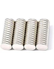 Magenesis Mini Neodym Magneter Extra Stark, Silver, ⌀ 10 mm, Paket med 52