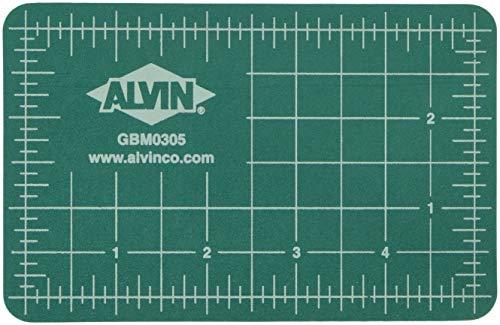 Alvin GBM Series Green/Black Professional Self-Healing Cutting Mat 3 1/2 x 5 1/2