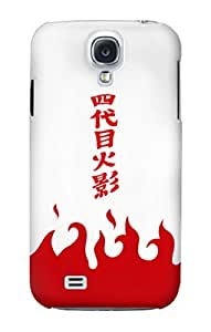 S2080 Yondaime 4th Hokage Minato Namikaze Cloak Case Cover For Samsung Galaxy S4