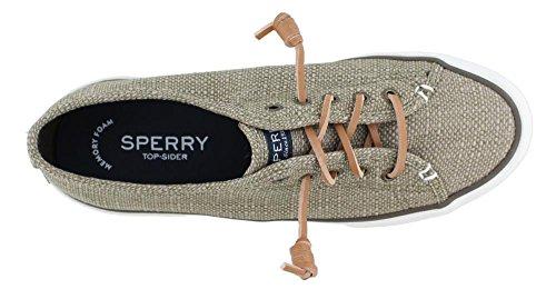 Sperry Top-Sider Women's Pier View Canvas Casual Shoe Canteen 90sje6FDN
