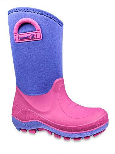 Kamik Bluster Boot (Toddler/Little Kid/Big Kid),Lavender,6 M US Big Kid