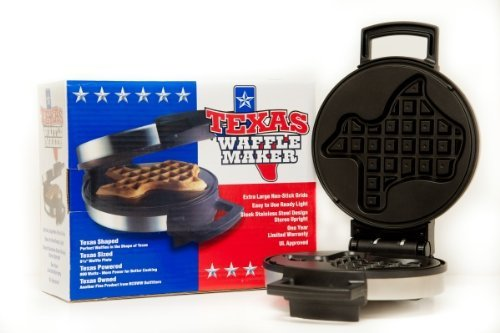 The Texas Waffle Maker by Beyond Basic Provisions