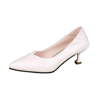 a012585a5d1a6 Amazon.com : YJYdadaS Slippers, Fashion Middle Pumps Heels with ...