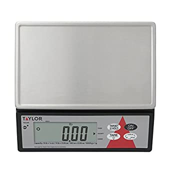 Taylor Precision TE10R Digital 10 Lb. Portion Scale with S/S Platform