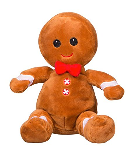Cuddly Soft 8 inch Stuffed Snap the Gingerbread Man...We stuff 'em...you love 'em! ()