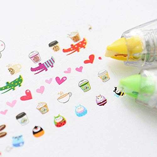 36 pcs/Lot Fruit correcting tape Mini kawaii correction tapes Sationery fita corretiva Office accessories supplies by PomPomHome (Image #6)