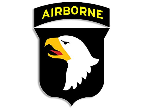 Screaming Eagle Airborne (101st Airborne Logo Screaming Eagles Sticker (logo usaf army 101))