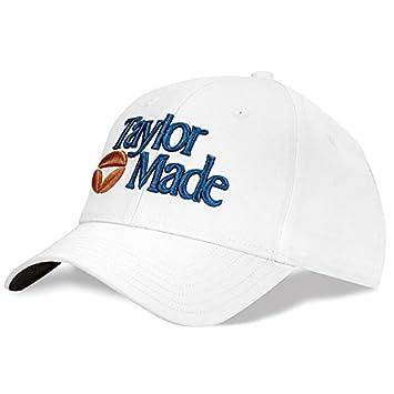 NEW TaylorMade Retro 1983 White Navy Bubble Adjustable Hat Cap   Amazon.co.uk  Sports   Outdoors 7e1ce226f1d