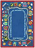 Faith Based Bible Train Kids Rug Rug Size: Oval 5'4'' x 7'8''