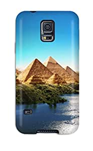 Fernando Gan Beane's Shop New Style High Grade Flexible Tpu Case For Galaxy S5 - Pyramids Of Utopia