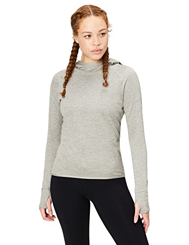 Core 10 Womens Be Warm Thermal Fitted Run Hoodie (XS-XL, Plus Size 1X-3X)