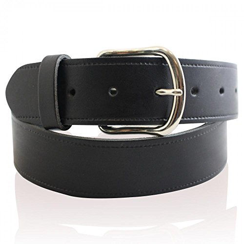 MENS REAL LEATHER 1.25' BLACK BELTS MADE IN ENGLAND (LARGE= (32' to 36' waist))