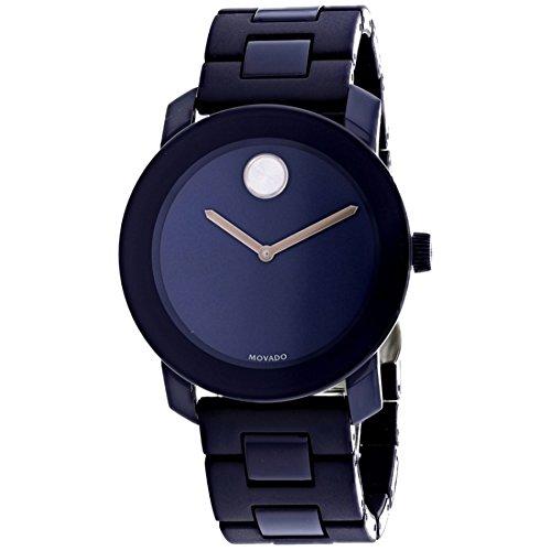 Movado Bold Navy Blue Dial Mens Watch 3600444