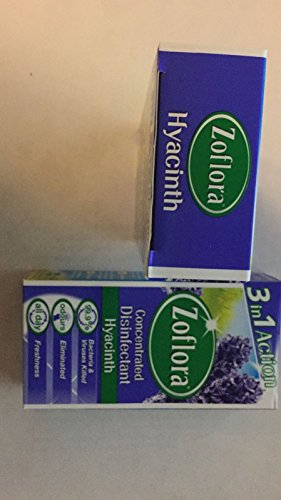 - Zoflora Concentrated Disinfectant - 56Ml (Pack of Two) (Hyacinth)