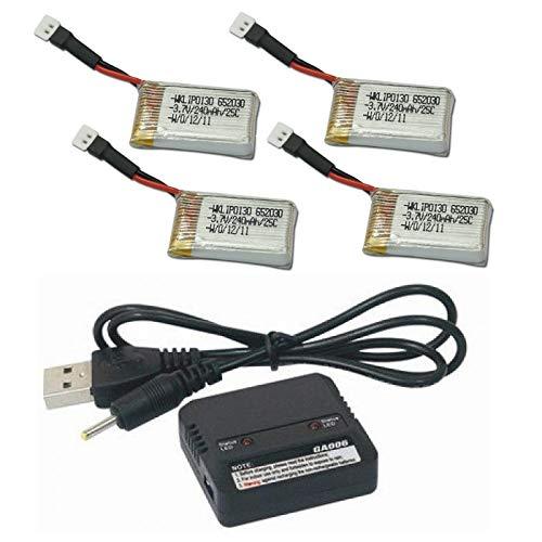 Protocol SlipStream H107-06 3.7V USB Battery Charger any mAh Auto Shut Off