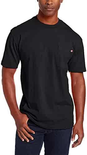 Dickies Men's Big and Tall Heavyweight Crew Neck Short Sleeve Tee