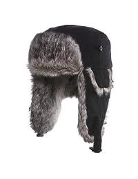 d74cc093e46 Chaos 11G3-2441 Men s Dylon Wool Blend Trapper Hat (Unisex)