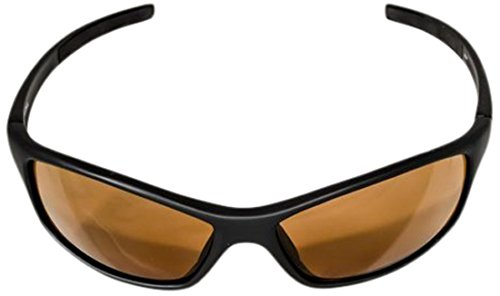 Ocean Waves Sunglasses Molokai Ocean Waves Molokai Sunglasses with Poly Non Mirrored Amber Lenses), Black, - Waves Sun Ocean Glasses