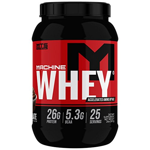 MTS Machine Whey Protein 2lbs. - Chocolate by MTS Nutrition