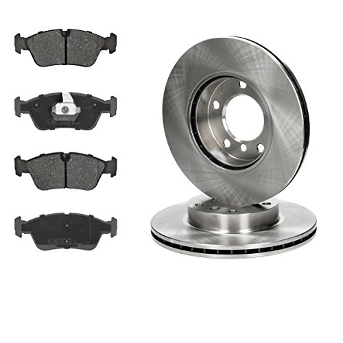 Brake set brake disc Ø286 ventilated brake pads front: