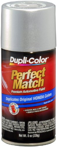 Dupli-Color EBHA09920 Billet Silver Metallic Honda Perfect Match Automotive Paint - 8 oz. Aerosol